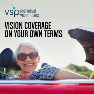 Next Day VSP vision coverage